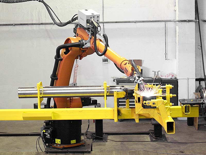 First welding robot started up on Siver factory